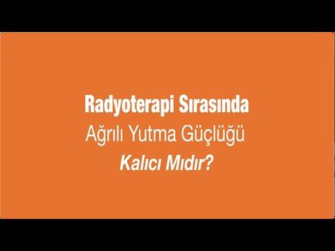 Radyoterapi Sırasında Ağrılı Yutma Güçlüğü Kalıcı Mıdır? - Prof. Dr. Serap Akyürek